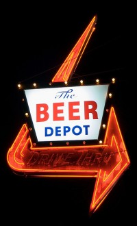 Beer Depot Sign - Photo By Spencer Thomas
